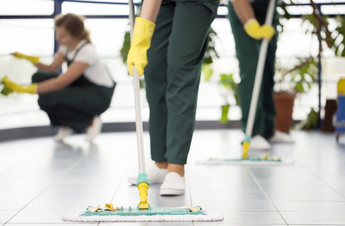 How is outsourcing corporate cleaning beneficial?